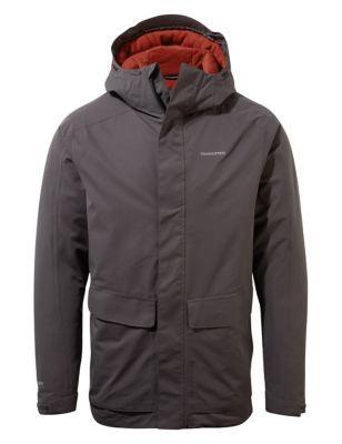 Padded Waterproof Hooded Utility Jacket