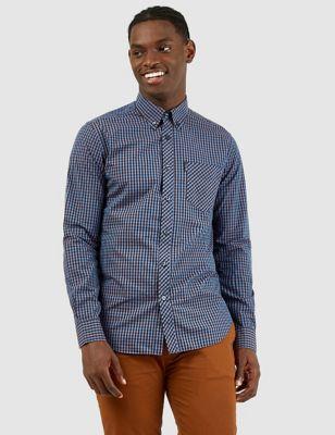 Organic Cotton Gingham Check Shirt