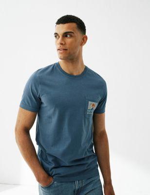 Pure Cotton Sun Graphic T-Shirt