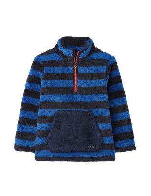 Fleece Striped Sweatshirt (2-8 Yrs)