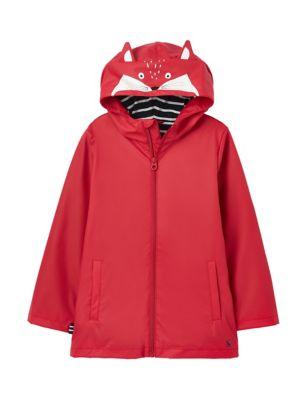Hooded Fleece Lined Raincoat (2-7 Yrs)