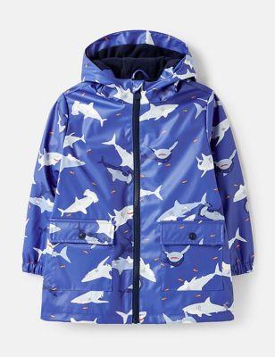 Fleece Lined Raincoat (2-7 Yrs)