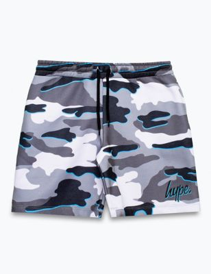 Jersey Camouflage Shorts (5-13 Yrs)