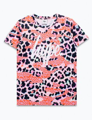 Animal Camouflage T-Shirt (5-13 Yrs)