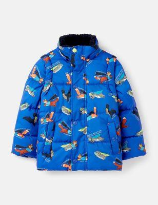 Animal 2-in-1 Jacket (2-7 Yrs)