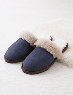 Sheepskin Mule Slippers