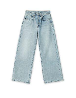 Organic Cotton Wide Leg Jeans