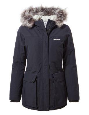 Waterproof Hooded Parka Coat