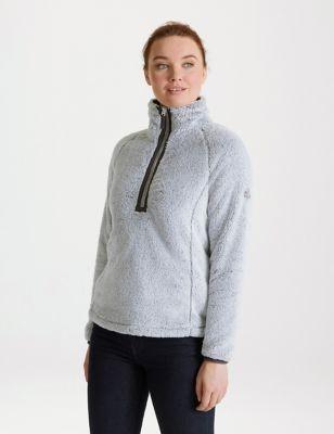 Half Zip Funnel Neck Fleece
