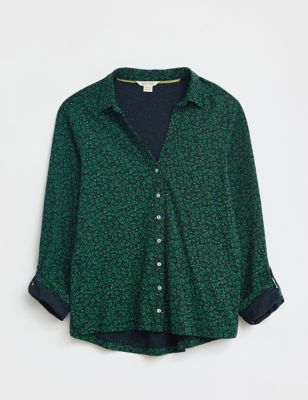 Pure Cotton Ditsy Floral Shirt