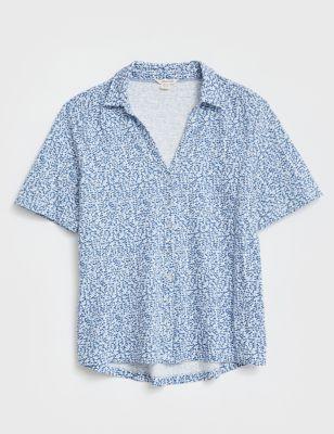 Pure Cotton Floral Shirt