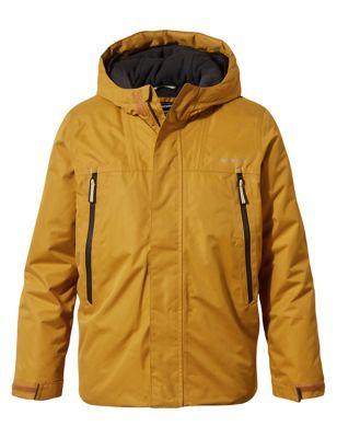 Padded Hooded Technical Raincoat (3-13 Yrs)