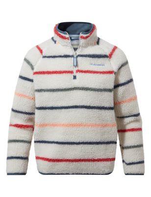Striped Fleece Top (3-13 Yrs)