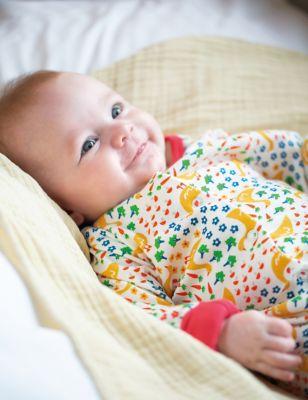 Organic Cotton Duck Sleepsuit (0 - 24 Mths)