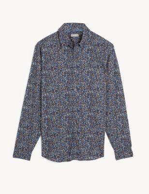 Pure Cotton Printed Shirt