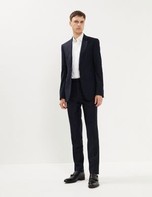 Tailored Fit Pure Wool Jacket