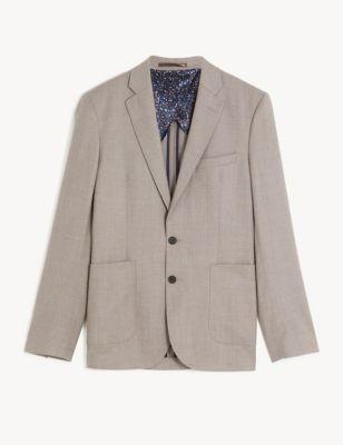 Slim Italian Wool Jacket