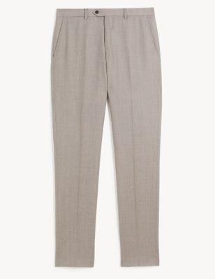 Slim Italian Wool Trousers