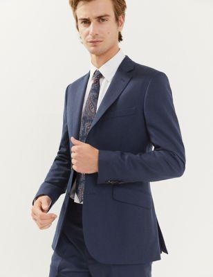 Slim Fit Italian Wool Jacket