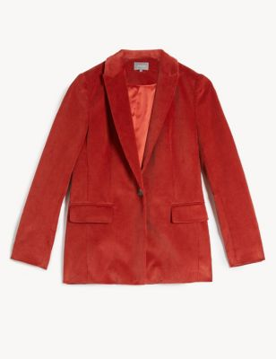 Cord Relaxed Tailored Blazer