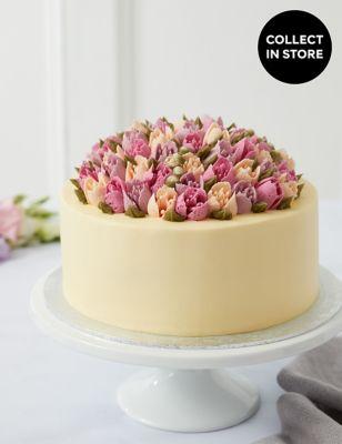Flower Festival Tulip Cake (Serves 24)