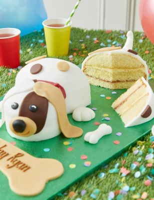 Personalised Buddy the Puppy Cake (Serves 24)