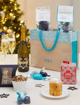 Italian Prosecco & Chocolate Festive Gift Bag (Delivery from 4th November 2021)