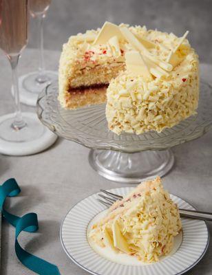 White Chocolate Cake & Pink Sparkling