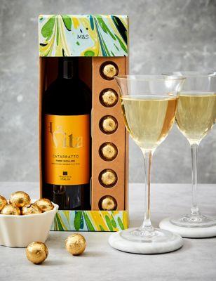 White Wine & Swiss Truffles