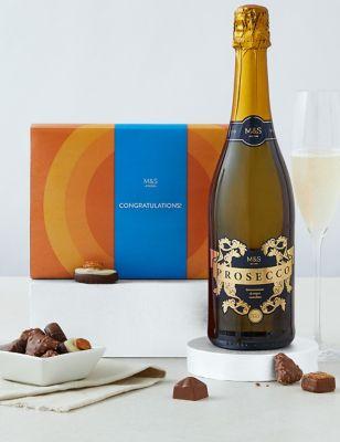 Congratulations Chocolates & Prosecco