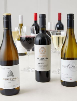 Winemakers Premium Edit Round the World Wine Mixed Case of 6 (Delivery from November 2021)