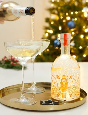 Clementine Light Up Snow Globe Gin Liqueur & Prosecco Gift Box (Delivery from 2nd November 2021)