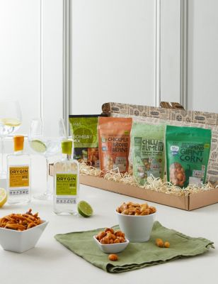 The Gin & Snacks Letterbox Gift