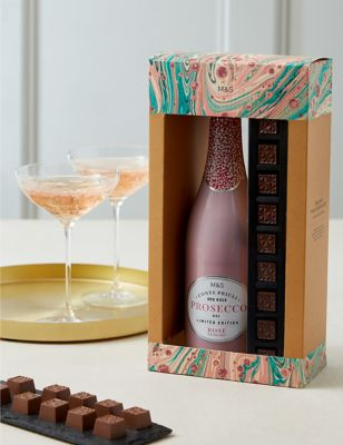 Rosé Prosecco & Chocolates (Delivery from November 2021)