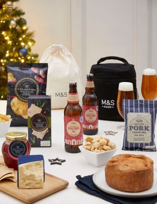 Christmas Pork Pie & Cheese Grazing Gift (Delivery from 19th December 2021)