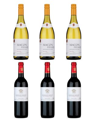 French Favourites Mixed Case - Case of 6