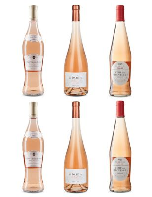 French Rosé Mixed Case – Case of 6