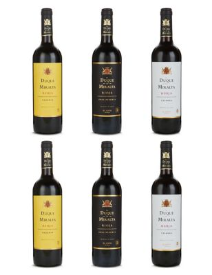 Rioja Lovers Mixed Wine Case - Case of 6