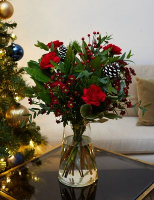 Ready To Arrange Red Winter Wonderland (Delivery from 17th November 2021)