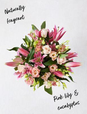 Lily & Lisianthus Bouquet