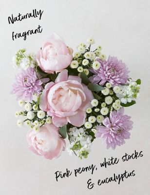 Ready To Arrange Lilac Blooms & Peony Bouquet