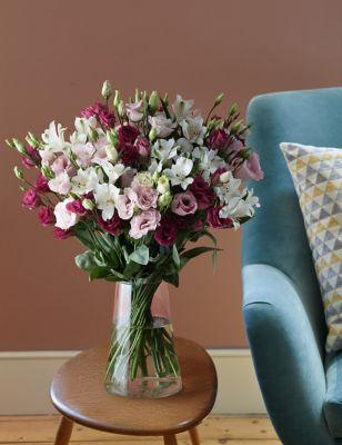 Alstroemeria & Lisianthus Bouquet