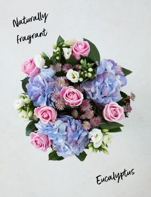 Pearl Hydrangea & Rose Bouquet