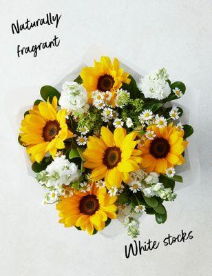 Seasonal Sunflower Gift Bag