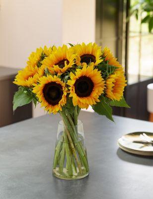 British Sunflower Abundance Bouquet