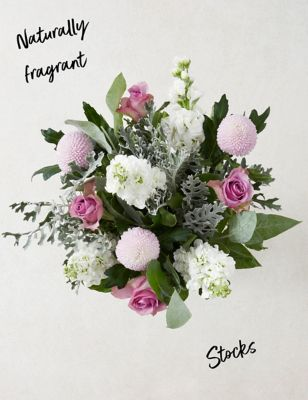 Ready To Arrange Lilac Flowers Bouquet (Delivery from 20th November 2021)