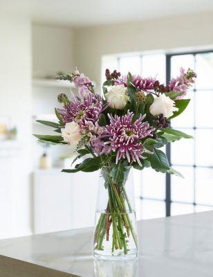 Autumn Amethyst Bloom Bouquet