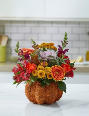 Ready To Arrange Halloween Pumpkin Bouquet (Delivery from 13th October 2021)