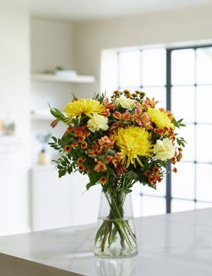 Autumn Sunset Bouquet of the Month (Delivery from 1st October 2021)