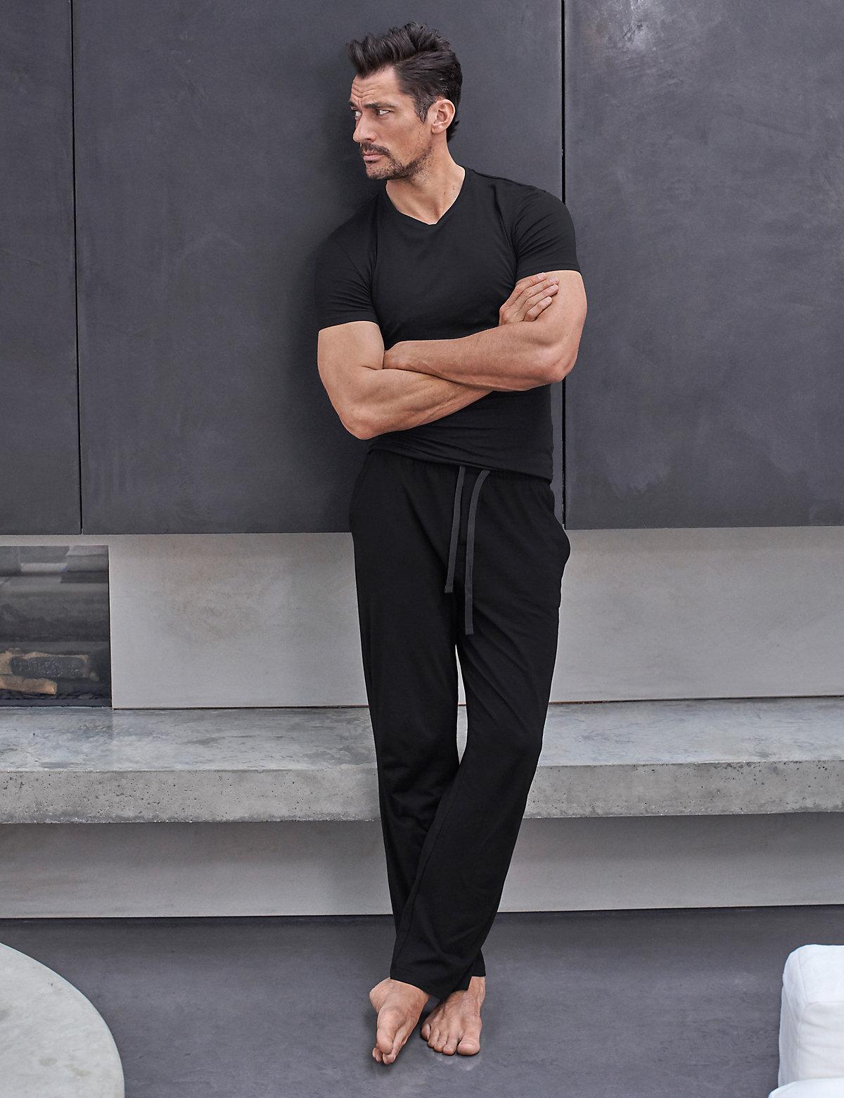 David Gandy for Autograph Slim Fit Supersoft Pyjama Bottoms